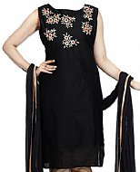 Black Georgette Suit- Pakistani Casual Clothes
