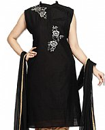 Black Georgette Suit- Pakistani Casual Dress