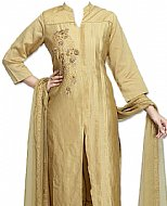 Golden Georgette Suit