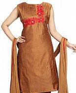 Copper Silk Suit