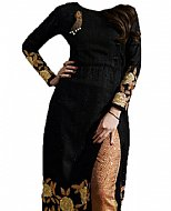 Black Chiffon Suit- Indian Dress