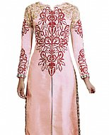 Baby Pink Silk Suit
