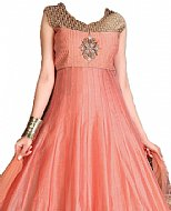 Peach Silk Suit- Indian Dress