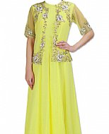 Pear Green Georgette Suit