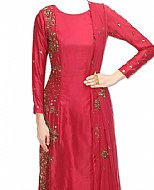 Magenta Silk Suit- Indian Dress