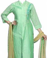 Mint Green Silk Suit