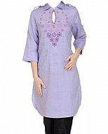 Lilac Georgette Suit- Indian Semi Party Dress