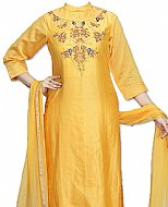Yellow Silk Suit- Indian Dress