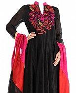 Black Chiffon Suit- online clothing