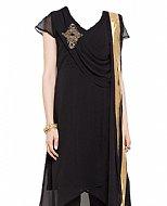 Black Chiffon Suit- Pakistani clothes