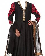 Black Georgette Suit- Indian Semi Party Dress