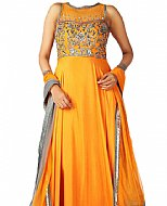 Gold Chiffon Suit- online clothing