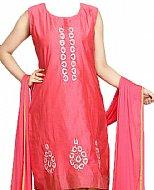 Pink Silk Suit- Pakistani suits