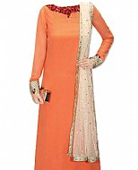 Peach Chiffon Suit- Indian Dress
