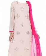 Baby Pink Chiffon Suit- Indian Dress
