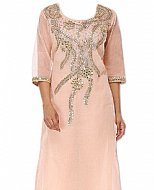 Light Peach Chiffon Suit