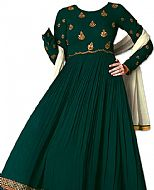 Teal Georgette Suit- Indian Dress