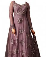 Violet Chiffon Suit