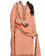 Peach Georgette Suit- Indian Dress