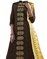 Dark Brown Georgette Suit- Indian Dress