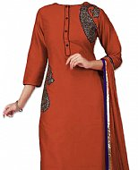 Brown Georgette Suit