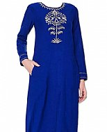 Royal Blue Georgette Suit- Pakistani Casual Dress