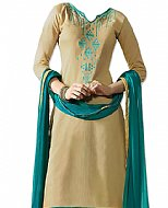 Ivory Georgette Suit- Pakistani Casual Clothes