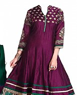 Mauve Silk Suit- Indian Dress