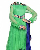 Green Net Suit- Indian Dress
