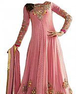 Pink Chiffon Suit- Indian Semi Party Dress