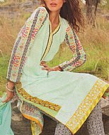 Light Sea Green Lawn Suit