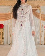 White Net Suit- Pakistani designer dress