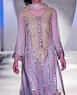 Lilac Crinkle Chiffon Suit