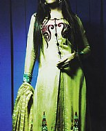 Parrot Green Crinkle Chiffon Suit- Indian Designer clothes