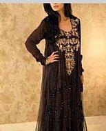 Black Net Suit- Pakistani Formal Designer Dress