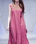 Tea Pink Silk Suit- Pakistani Party Wear Dress