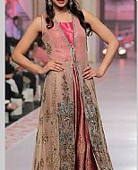 Beige Chiffon Suit- Pakistani Formal Designer Dress