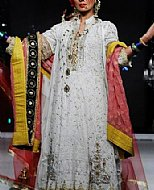 Off-white Chiffon Suit- Pakistani Party Wear Dress