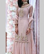 Light Pink Chiffon Suit- Pakistani Formal Designer Dress