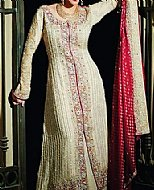 Light Golden Chiffon Suit- Pakistani Wedding Dress