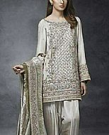Light Green Silk Suit- Pakistani Formal Designer Dress