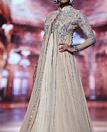Ivory Crinkle Chiffon Suit- Pakistani Formal Designer Dress