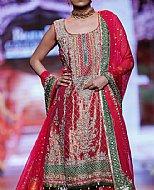 Magenta Silk Suit- Pakistani Formal Designer Dress
