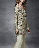 Fernwood Green Chiffon Suit- Pakistani Party Wear Dress