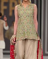 Light Green Chiffon Suit- Pakistani Party Wear Dress