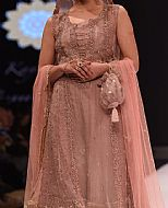 Rose Gold Chiffon Suit- Pakistani Party Wear Dress