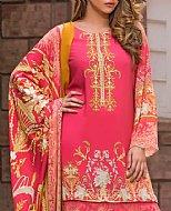 Pink Linen Suit