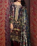 Multicolor Velvet Suit