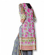 Grey/Gren Cotton Lawn Suit- Casual Dress