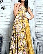 Mustard Bamboo Silk Suit